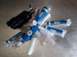 Szűrőbetétek, szűrőházak,  membránok, mosógép vízkőmentesítő
